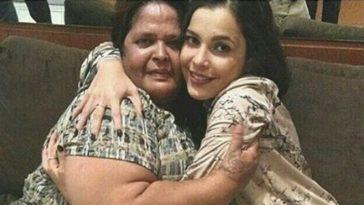 Fã foi recebida por Emilly em um hotel no Rio (Foto: Reprodução/ Facebook)