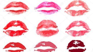 Formatos de lábios
