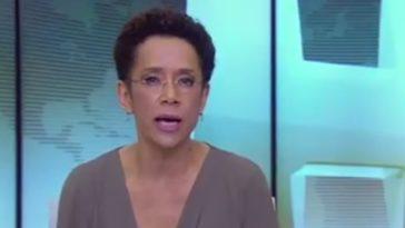 Zileide comandou o noticiário nacional no último sábado (Foto: Reprodução/Youtube)