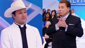 Padre-Alessandro-Campos-e-Silvio-Santos