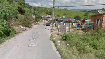 Homicídio aconteceu em rua do bairro Cidade Nova II, em Várzea Paulista (SP) (Foto: Reprodução)