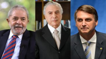 Lula-Temer-Bolsonaro