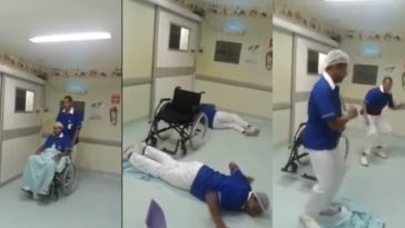 feedclub hospital que tiro foi esse