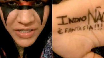 indio não fantasia