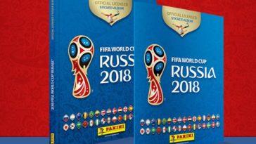 feedclub álbum figurinhas copa do mundo 2018