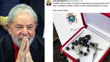 feedclub lula papa francisco