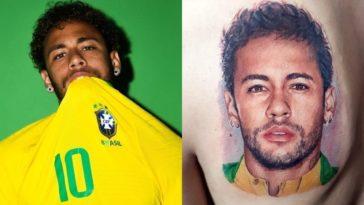 feedclub tatuagem neymar