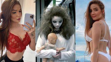 menina fantasma Anna Livya
