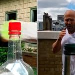 desafio da garrafa