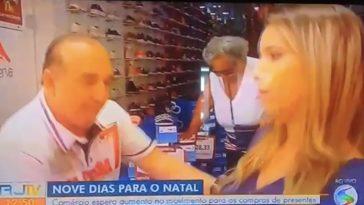 repórter desmaia globo cássia carioca (je)