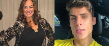 mãe de neymar