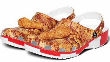 frango frito crocs kfc