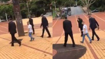 Belo Horizonte-mistério menino seguranças