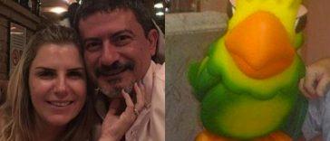 Tom Veiga-Louro José ex-mulher