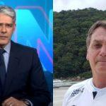 William Bonner-Fala Bolsonaro