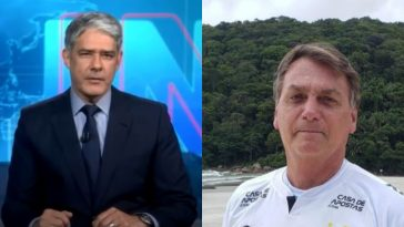 William Bonner-Fala Bolsonaro