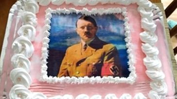 Bolo aniversário - Adolf Hitler